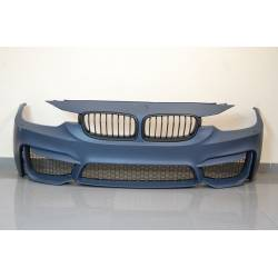 PARE-CHOC AVANT BMW F30-F31 12-14 LOOK M4 GRILLE ABS