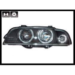 FAROS DELANTEROS BMW E39 95-03 BLACK XENON