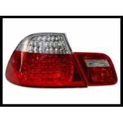 FANALI POSTERIORI BMW E46 2P 2003-2005 RED LED