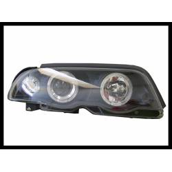 FARI ANTERIORE ANGEL EYES BMW E46 '98-01 4P. INTER. BLACK