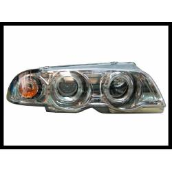 FARI ANTERIORE ANGEL EYES BMW E46 '98-01 4P. ELECT.