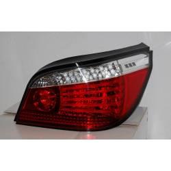 FANALI POSTERIORI BMW E60 RED INTERMITENTE LED