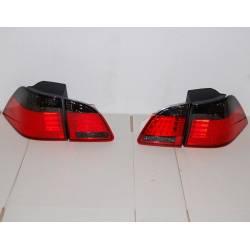 PILOTES ARRIÈRES BMW E61 LED, RED/BLACK
