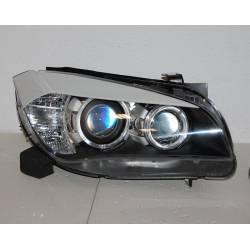 FAROS DELANTEROS LUZ DIA BMW X1 09-12 DRL BLACK