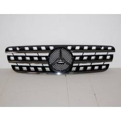 Grill Mercedes W164, W163 Type 1999-2005 black/chromed