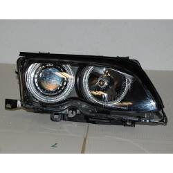 FARI ANTERIORE ANGEL EYES BMW E46 '02/'05 4P. ELECT. BLACK