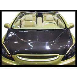 Carbon Fibre bonnet Peugeot 307, with air intake