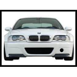 PARAURTI ANTERIORE BMW E46 M3 ABS C/FLAP CARBONIO LOOK CSL