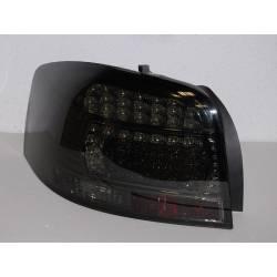 FANALI POSTERIORI AUDI A3, 2003-2008 LED SMOKED