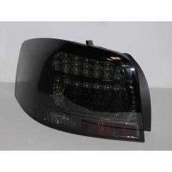 PILOTOS TRASEROS AUDI A3 '03-08 LED SMOKED