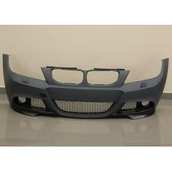 Pare-choc avant BMW E90 09-12 LOOK  M-TECH LCI ABS Avec pointe carbone