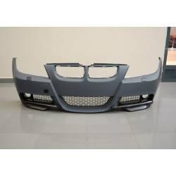 PARAGOLPES DELANTERO BMW E90 05-08 LOOK  M-TECH LAVAFAROS ABS C/PUNTERAS CARBONO
