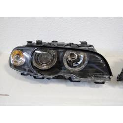 FARI ANTERIORE ANGEL EYES BMW E46 '98 2P. BLACK
