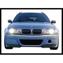PARAURTI ANTERIORE BMW E46 98-05 2/4P TIPO CSL FLAP CARBONIO