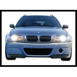 PARE-CHOC AVANT BMW E46 98-05 2/4P TYPE CSL POINTE CARBONE