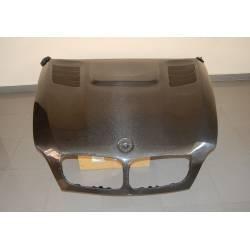 CAPOT CARBONE A PEINDRE BMW X6 AVEC PRISE D'AIR