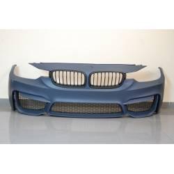 PARAURTI ANTERIORE BMW F30-F31 12-14 LOOK M4 GRIGLIE ABS