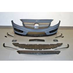 Paragolpes Delantero Mercedes W176 2012-2015 A45 Look AMG Parrilla