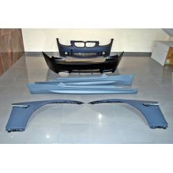 KIT DE CARROCERIA BMW E92 / E93 06-09 LOOK M3 CON ALETAS