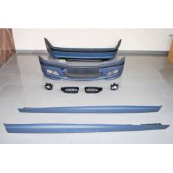 KIT DE CARROCERIA BMW E46 4P 2002-2004 LOOK M-TECH ABS