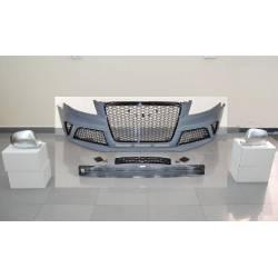 Paragolpes Delantero Y Cubre Espejos Audi A4 '09-12 B8 RS4