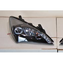 Faros Delanteros Hyundai Genesis 2P 08-11, Black, Luz De Dia