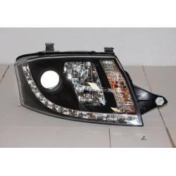 Faros Delanteros Luz De Dia Audi TT '98-05 8N Black