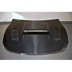 Capó Carbono Toyota GT 86 / Subaru BRZ Black Con Toma