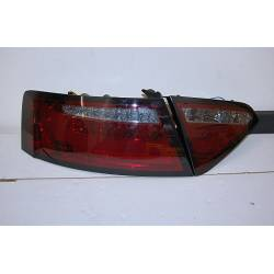 PILOTOS TRASEROS AUDI A5 2-4P 07-09 LED RED/SMOKED CARDNA INTERMITENTE LED