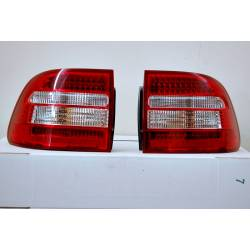 PILOTOS TRASEROS PORSCHE CAYENNE '03 LED RED