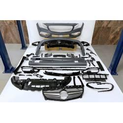 Kit Carrocería Mercedes W117 2013-2018 4P / SW LCI Look AMG A45 II Parrilla