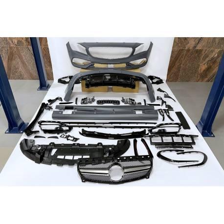 Kit Carrocería Mercedes W117 13-18 4P / SW LCI Look AMG A45 II Parrilla