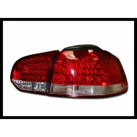 feux arri res volkswagen golf 6 led rouge convert cars. Black Bedroom Furniture Sets. Home Design Ideas