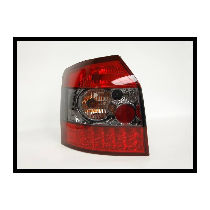 feux arri res audi a4 39 01 sw rouge fum led convert cars. Black Bedroom Furniture Sets. Home Design Ideas