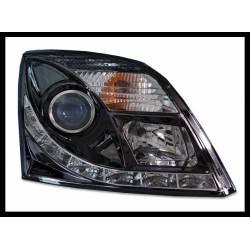 Phare Avant Avec Lumière De Jour Opel Vectra C, Noir