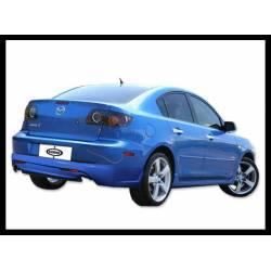 Spoiler Trasero  Mazda 3 4P.