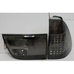 Pilotos Traseros BMW X5 Black '02-05 Led
