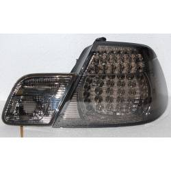 FANALI POSTERIORI BMW E46 '98-'05 CC, LED, CHROMED, SMOKED