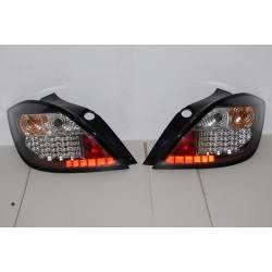 PILOTOS TRASEROS OPEL ASTRA H 5P 04-08 LED BLACK