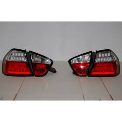 Pilotos Traseros BMW E90 Led Red Cardna