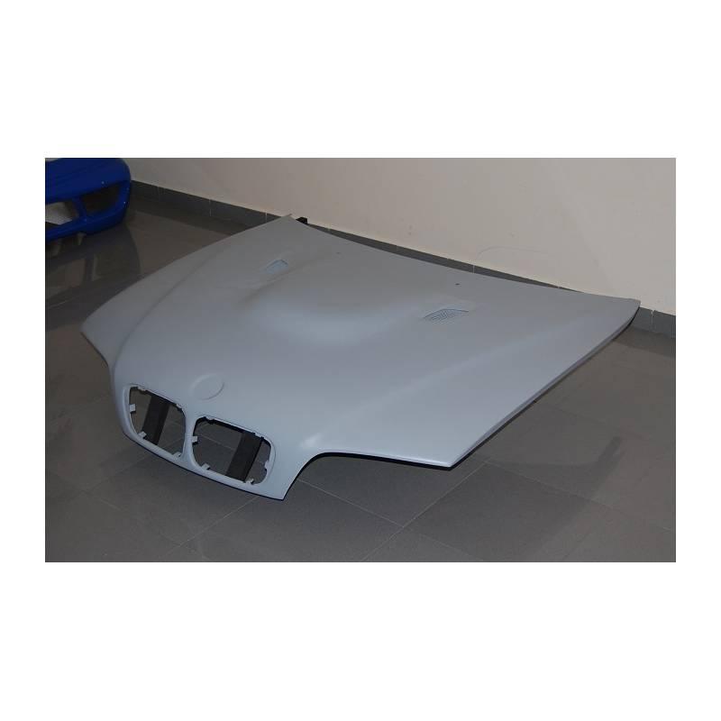capot fibre bmw e46 m3 avec prise d 39 air e92 convert cars. Black Bedroom Furniture Sets. Home Design Ideas