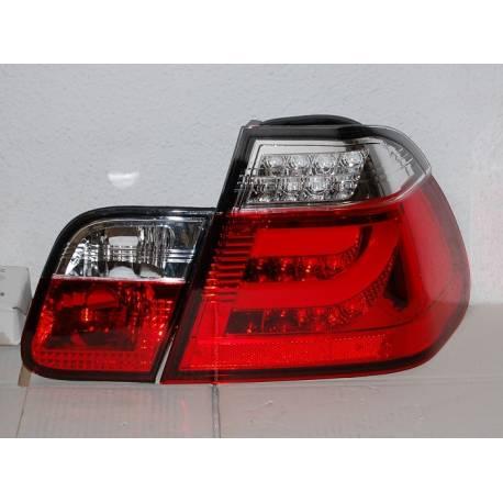 feux arri res cardna bmw e46 4 portes 2002 2005 red lightbar convert cars. Black Bedroom Furniture Sets. Home Design Ideas