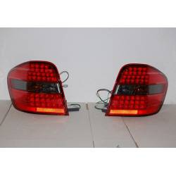 SET OF REAR TAIL LIGHTS MERCEDES ML BOX W164 2006 LED SMOKED