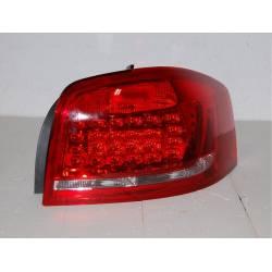 Pilotos Traseros Cardna Audi A3 09-11 Red Led