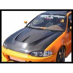 Capó Carbono Honda Civic '92 2-3P. C/T