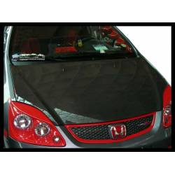 Capó Carbono Honda Civic '01 3P. S/T