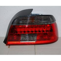 Pilotos Traseros BMW E39 ´01-03 Led Red/Smoked