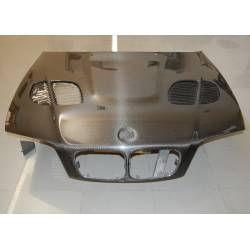 COFANO CARBONIO BMW E46 98-01 4P LOOK M3 GTR