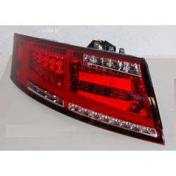 Pilotos Traseros Audi TT 8J 2006-2014 Led Red Cardna Intermitente Led Dinámico