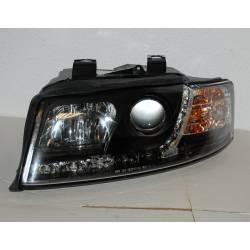 Faros Delanteros Luz De Dia Audi A4 '02-04